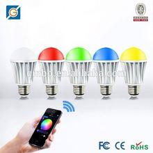 hk led light RGB bulb bulb by android control,Android/IOS APP WiFi LED Bulb