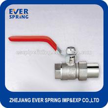 copper brass handle ball valve stem gate valve
