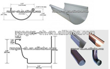 water gutter roll forming machine/rain gutter machine/down pipe forming machine