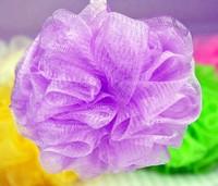 nylon net clean bath pouf