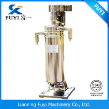 125 GF series High Speed Tubular Bowl Separator for Emulsion cooling and lubricating oil