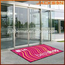 customized anti slip shop logo carpet and mat