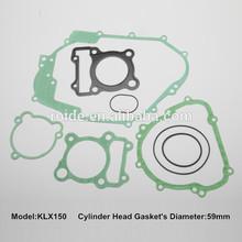 KLX 150 for motorcycle full gasket kit