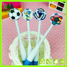 2014 Brazil world cup football plastic ballpoint pen