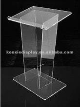Comercial acrílico igreja pódios/púlpito da igreja pedestal