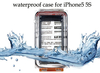 High Quality 40m/130ft Seashell Waterproof Photo Housing Underwater Case for iPhone 5 5s 5c