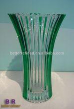 FINAL PRESSED GLASS HIGH END VASE