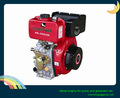 7.7/8.6hp tek silindirli hava soğutmalı küçük dizel motor satışı pompa ve jeneratör