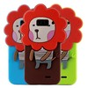 Cartoon Style Silicone Phone Cover New , Animal Shape Silicone Cover