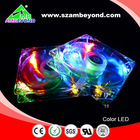 plastic axial fan blades 120*120*25mm small LED exhaust fans