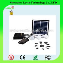 Green Energy Small Home 4W Lighting System Household Power Solar Energy Kit