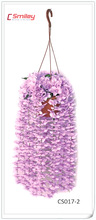artificial bushes, wall decoration, hanging flower