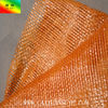 caiyuan top sale cheap orange mesh plastic bag for packing onion potato