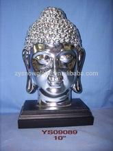 2014 newest resin thailand buddha head