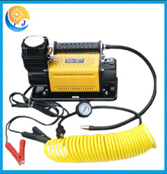 Portable auto car emergency tool kit with air compressor