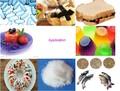 Estabilizador de espuma para sorvete, creme, cerveja: glucomannan alta alta qualidade goma de konjac