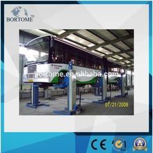 Mobile four post heavy duty truck lift