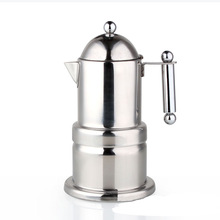 LFGB hight quality 304 Stainless steel coffee maker/coffee sets with silicon ring and safety valve