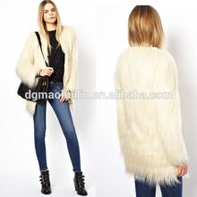 Lady unreal fur wanderlust long coat women winter clothing