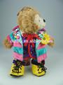 carino orsacchiotti immagini di coloratissimi vestiti