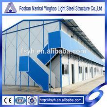 light steel frame prefab house produce company