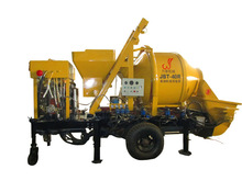 high quality diesel concrete mixer with pump