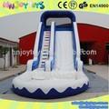 Nueva inflable de la piscina de agua, Gigante tobogán inflable con piscina