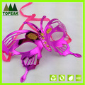 roseo de carnaval festa de máscara borboleta