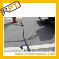 Roadphalt Repair cracks in an asphalt Driveway
