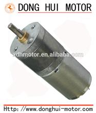25mm gear motor with 370 DC motor Brushed Diameter 24.4mm 3 rpm gear motor