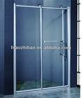 latest aluminum sliding shower door NO:P-021