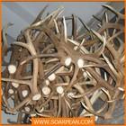 custom Christmas decorative flocking fiberglass antler