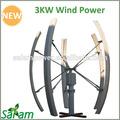3kw vertikale achse windkraftanlage nach hause verwenden zum verkauf