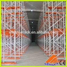 drive-in storage racking,drive-through rack,duty storage rack