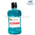 Mint mouthwash/Brands chlorhexidine antiseptic antibacterial liquid natural herbal mint mouthwash manufacturers