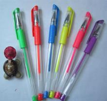 Fluorescent gel ink pens,color gel ink pens