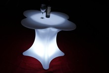 LED party/event furniture luminous LED table LED flower tables