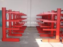 Metal cantilever storage shelf,steel pipe storage rack
