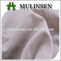 Mulinsen textiles, colorant plain voile pur coton poches en tissu gros