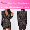 china wholesale Lace Wrap over Mini short sexy nighty dresses