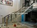 Curvo escada/moderna escada corrimão/modelos de escadas em ambientes fechados