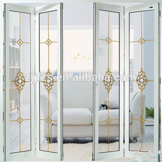 De aluminio plegable de la puerta puertas plegables para - Puertas plegables aluminio ...