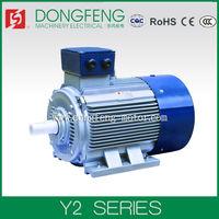 Y2 three phase electric industrial fan motor 100hp