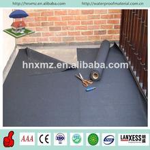 For balcony1.2mm 1.5mm 2.0mm with fleece back epdm rubber waterproof membrane