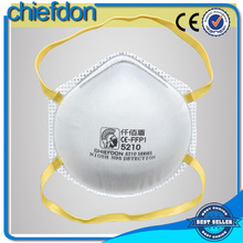 disposable particulate dust mask chemical respirator