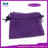 china drawstring nylon mesh bags packing with low price