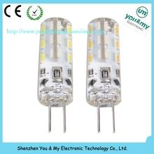 G4 led car light 2W high brigtness led bulbs warm white