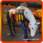 High quality decorative fiberglass animals horse 2.5m