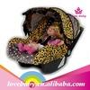 Fashion cute leopard baby car seat cover