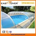nuevo diseño de plástico cubiertas de piscina